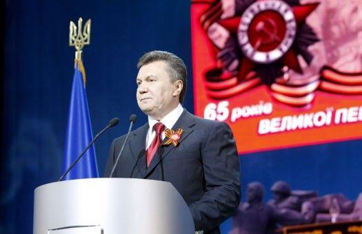 Виктор Янукович поздравил с Днем Победы севастопольских ветеранов