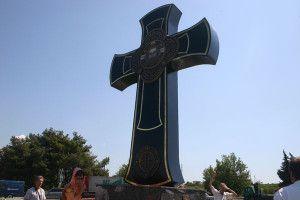 крест на ялтинском кольце