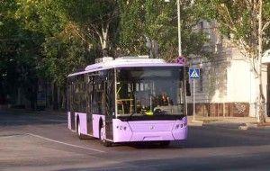 проезд в севастопольских троллейбусах
