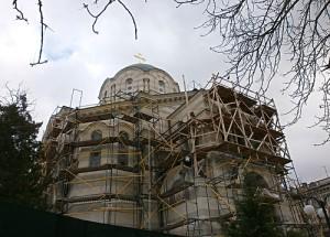 собор на центральной горке реконструкция