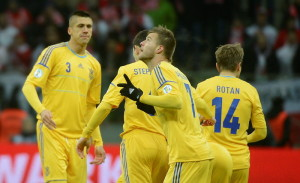 Украина - Польша 1-0, Ярмоленко