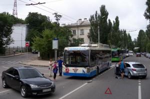 дтп троллейбус севастополь