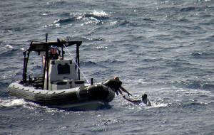 ВМС спасли капитана судна в аденском заливе