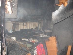 пожар квартира
