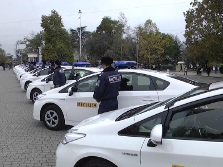 машины для милиции Севастополя