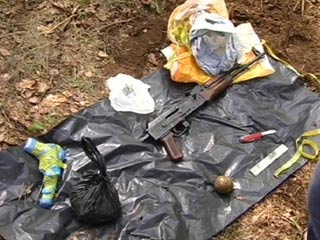 оружие в лесу севастополя