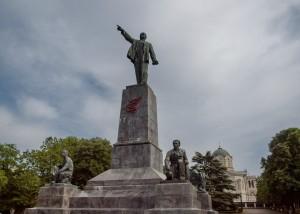 памятник ленину в Севастополе хотят охранять