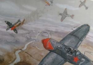 рисунки детей о войне