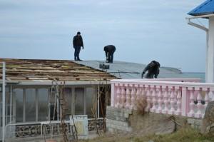 а пляже снесли бар