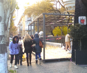 ресторан казбек битва за тротуар