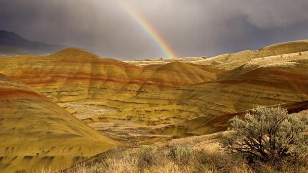 Окрашенные холмы штата Орегон