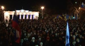 митинг в Севастополе 28 января