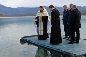 пополнилось чернореченское водохранилище