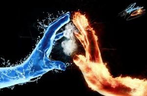 пожар и паводок
