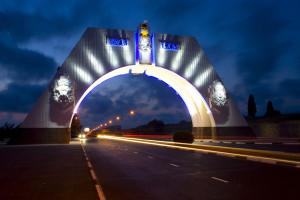 Кабель подсветки арки 200-летия Севастополя украдена