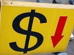 Сегодня на торгах доллар упал до 9 гривен