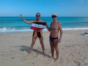 переплыл Карибское море