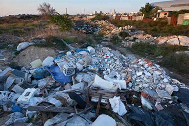 Полигон по захоронению строительного мусора в Севастополе