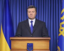 обращение Януковича к народу
