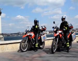 мотоциклы для пожаротушения