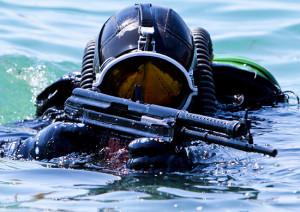 подводные диверсанты в Стрелецкой бухте