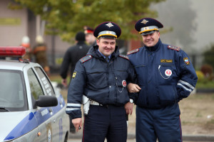 ГИБДД учат ПДД водителей Севастополя