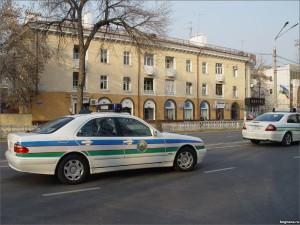 Милицейская машина в Узбекистане сбила троих пешеходов