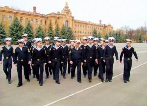 курсанты нахимовцы в Одессе
