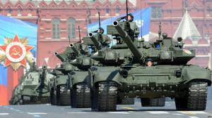 военная мощь России на параде