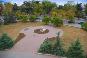 убрали украинский памятник