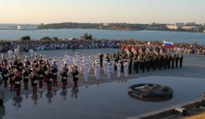 фестиваль военных оркестров Севастополь