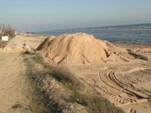 воровали песок в Любимовке