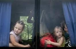 беженцы прибывают в Севастополь