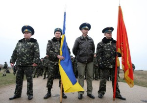 украинских военных выбрасывают на улицу