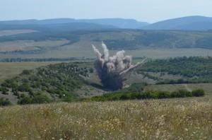 уничтожена бомба