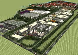 парк промышленных предприятий