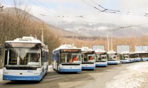Севастополь и Ялту соединит троллейбусный маршрут