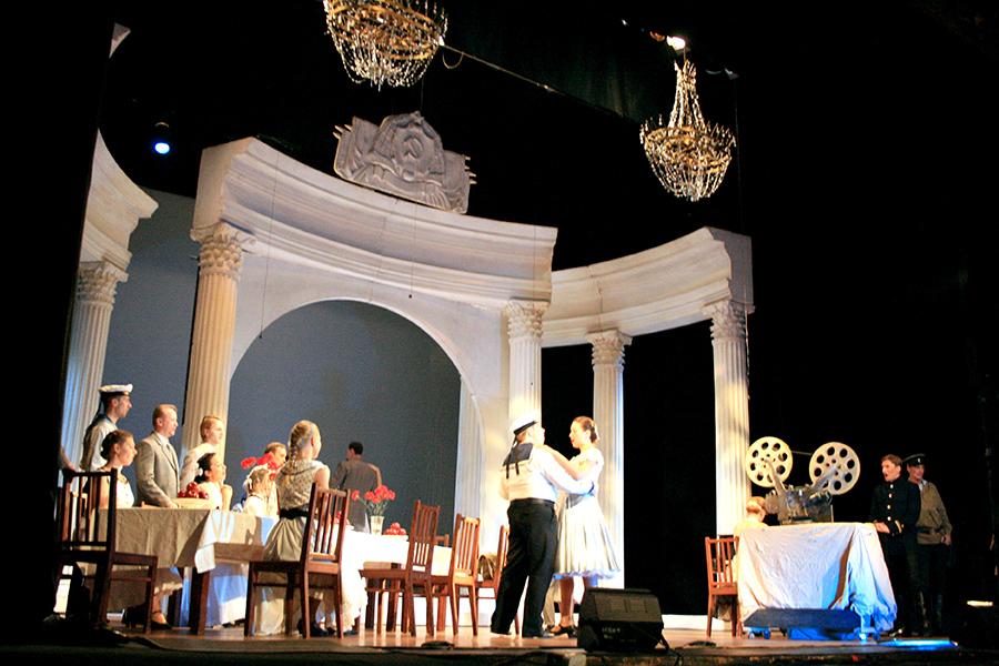 Севастополе проходят гастроли Санкт-Петербургского театра музыкальной комедии