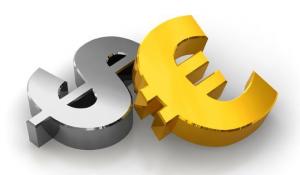 На Форексе евро продолжает снижение к доллару