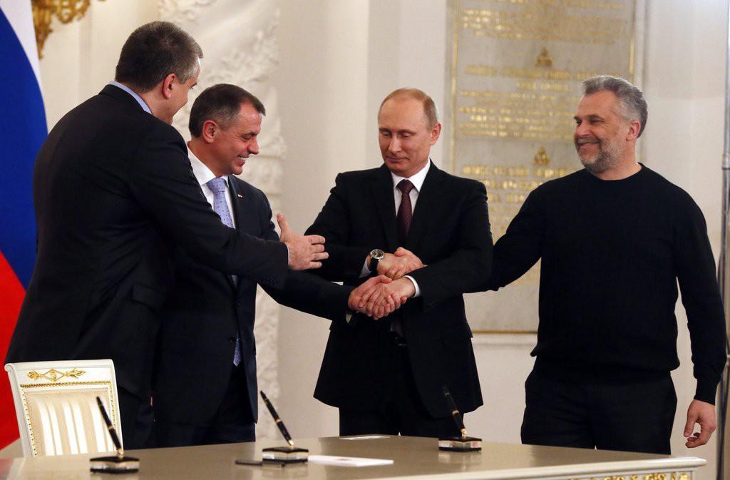 Глава Крыма отказался провожать Путина в аэропорт
