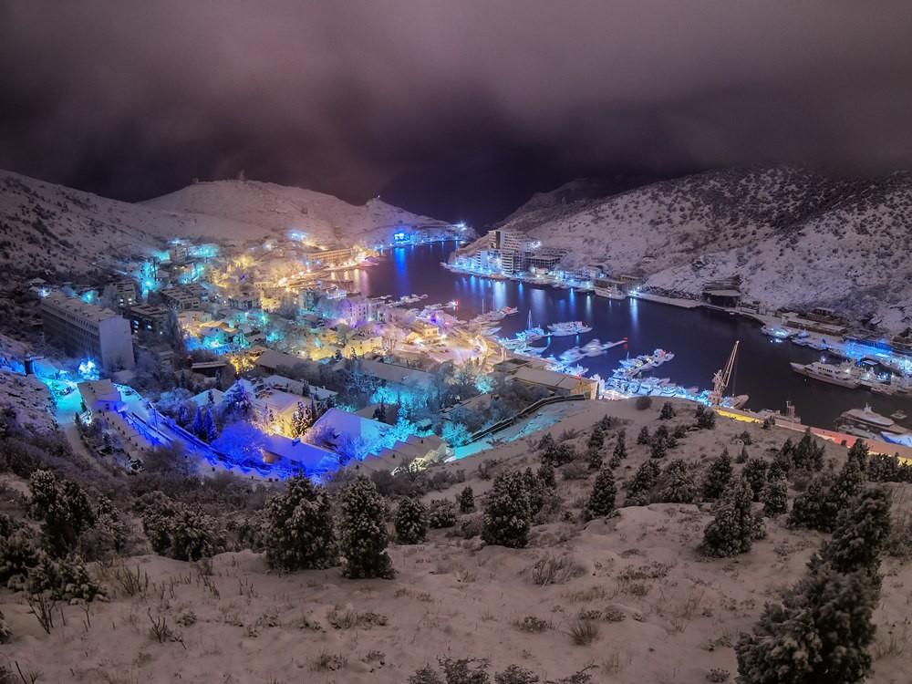 Какая погода ждет севастопольцев в новогоднюю ночь