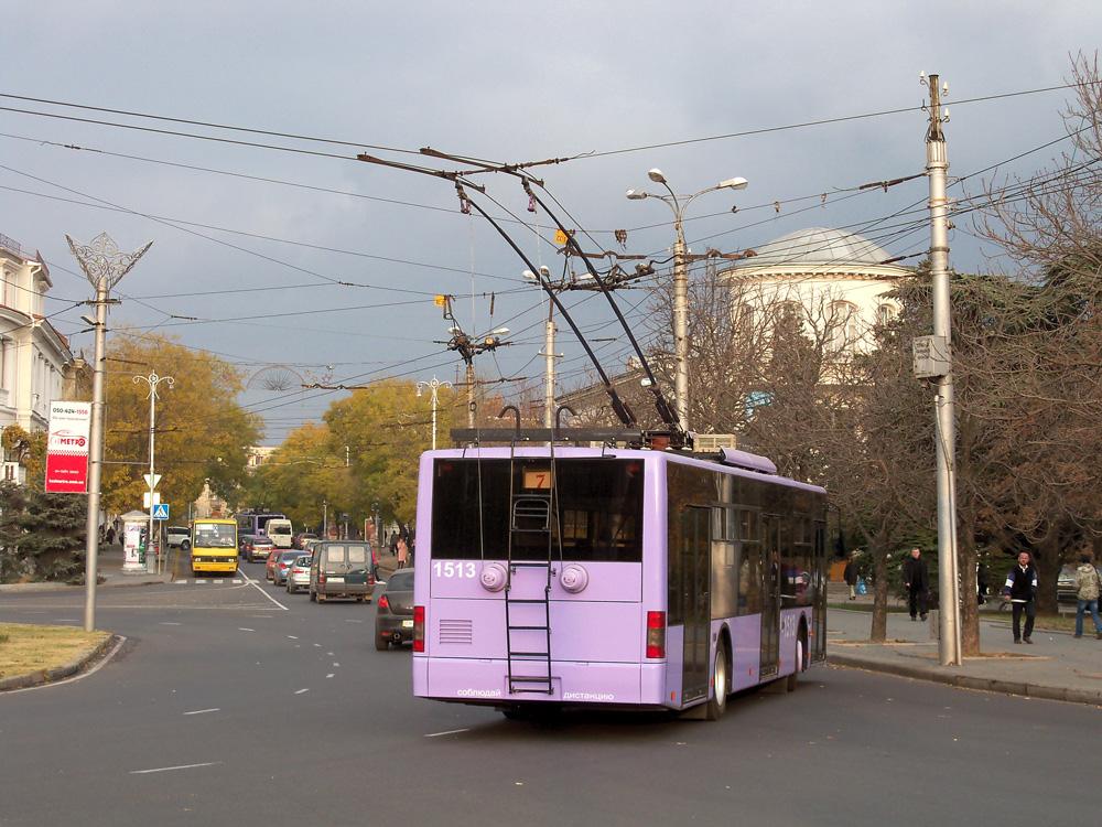 Сегодня в Севастополе на маршруты вышло 19 троллейбусов