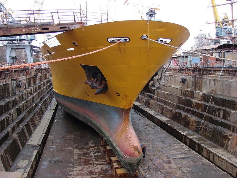 Севастопольский филиал «Звездочки» завершил ремонт парома и буксира (ФОТО)