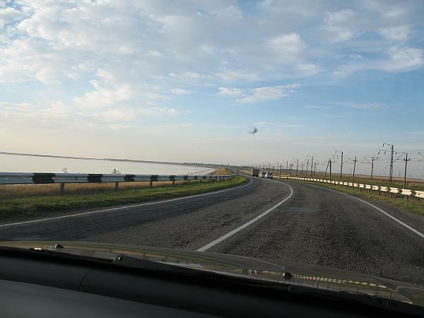 На аварийном участке трассы Чонгар-Симферополь возобновилось движение