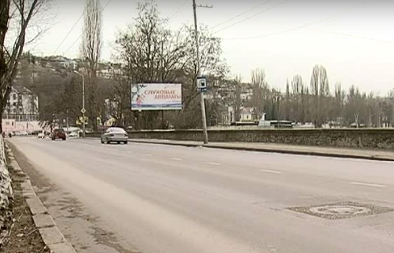 Дорогу на Героев Севастополя снова отремонтировали