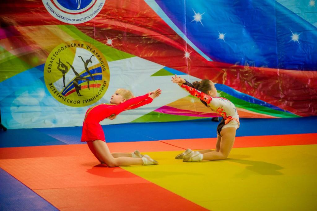 Севастопольцы стали серебряными призерами первенства КФО по художественной гимнастике