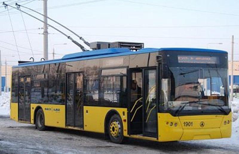 В понедельник на маршруты выйдут 35 троллейбусов