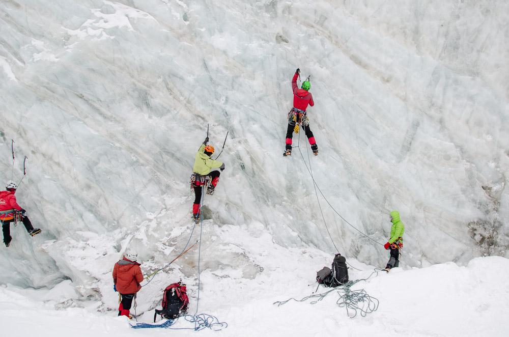 Севастополец принимает участие в Чемпионате России по альпинизму