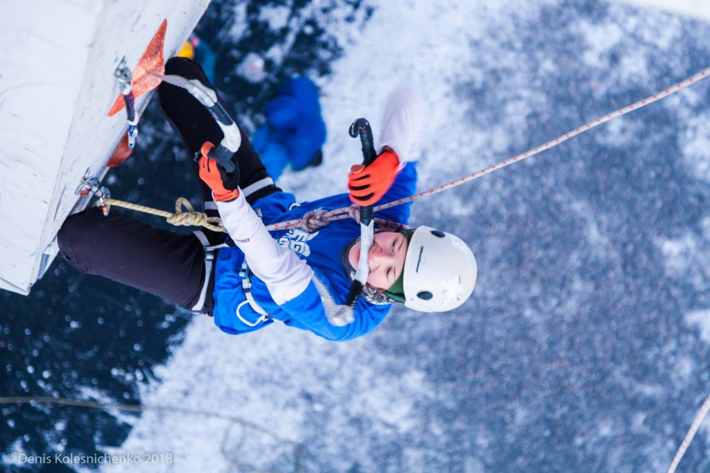 Спортсменка из Севастополя едва не пробилась в полуфинал Кубка мира по ледолазанию