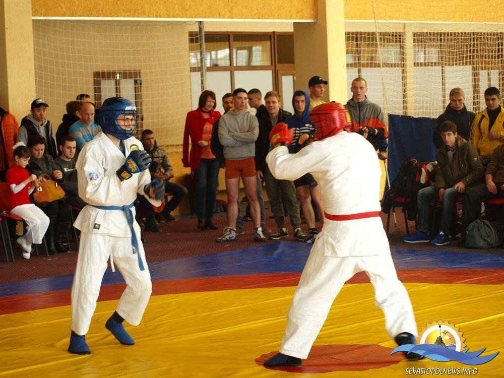 На Черноморском флоте проведён новогодний турнир по армейскому рукопашному бою
